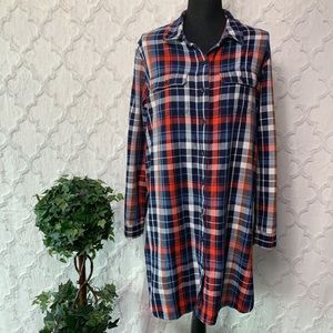 Universal Thread Plaid Flannel Dress